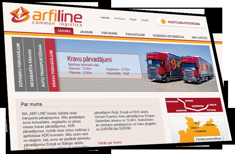 Arfiline logistics solutions provider